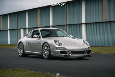 2006 Porsche 911 - 19x8.5 50mm - Augment Wheel Company  - Coilovers - 245/35R19