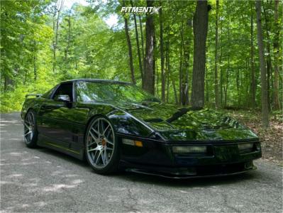 1989 Chevrolet Corvette - 19x8.25 56mm - BBS Cx-r - Stock Suspension - 235/35R19