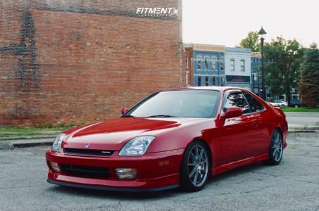 1999 Honda Prelude - 17x7.5 45mm - OZ Racing Omnia - Coilovers - 215/40R17