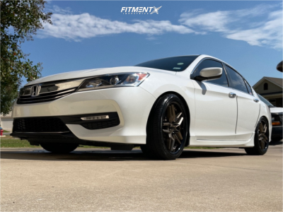 2017 Honda Accord - 19x8.5 35mm - Niche Methos - Coilovers - 255/35R19