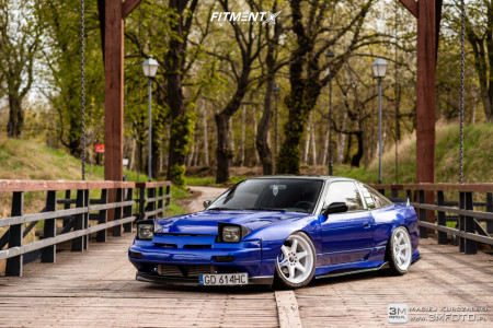 1989 Nissan 240SX - 18x9.5 22mm - Japan Racing Jr3 - Coilovers - 235/40R18