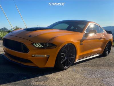 2018 Ford Mustang - 20x10 25mm - Rohana Rfx10 - Air Suspension - 265/35R20