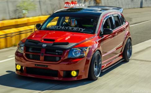 2008 Dodge Caliber - 19x10.5 22mm - ESR Sr08 - Coilovers - 235/40R19