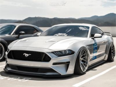 2018 Ford Mustang - 19x11 7mm - Artisa Artformed Elder - Air Suspension - 245/35R19