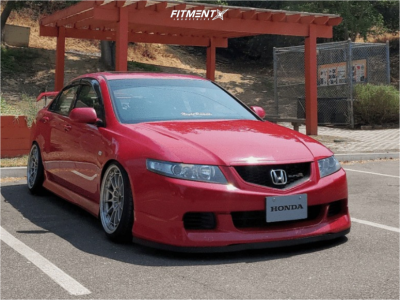 2006 Acura TSX - 18x9.5 27mm - Enkei Nt03m - Coilovers - 225/40R18