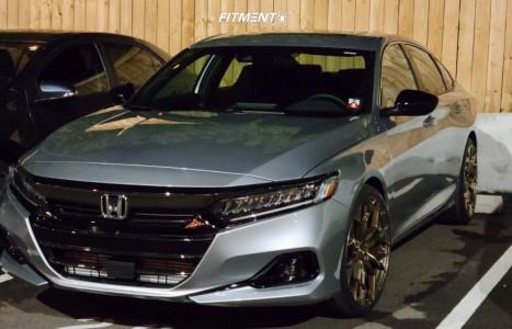 2021 Honda Accord - 20x9 35mm - Stance Sf-10 - Stock Suspension - 245/35R20