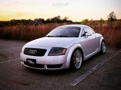 2002 Audi TT - 18x8.5 35mm - Enkei Nt03m - Coilovers - 235/40R18