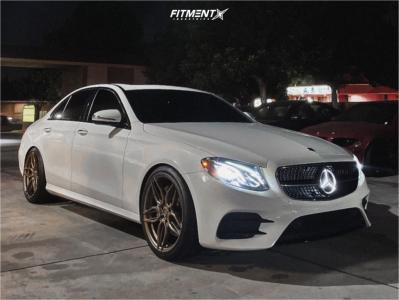 2020 Mercedes-Benz E350 - 20x9 25mm - ADV.1 Adv005 - Lowering Springs - 255/35R20