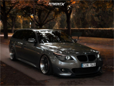 2008 BMW 535i - 19x9.5 5mm - 59�northwheels D-007 - Coilovers - 215/35R19