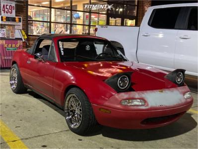 1991 Mazda Miata - 15x8 20mm - XXR 531 - Lowering Springs - 195/50R15