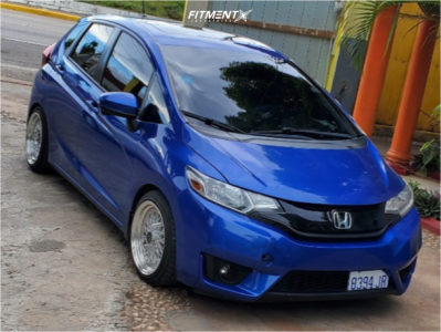 2015 Honda Fit - 16x8 20mm - Jnc Jnc004 - Lowering Springs - 195/45R16
