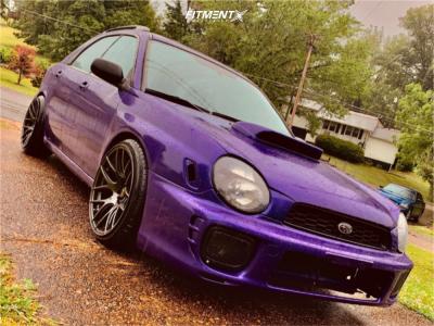 2003 Subaru Impreza - 18x9.75 33mm - XXR 530 - Coilovers - 215/40R18