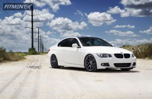 2009 BMW 335i - 20x9 35mm - Velgen VMB5 - Lowered Adj Coil Overs - 245/30R20