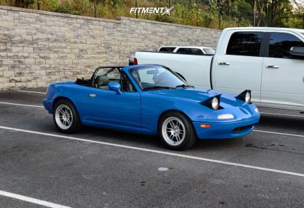 1997 Mazda Miata - 15x8 28mm - Enkei Rpf1 - Coilovers - 195/55R15