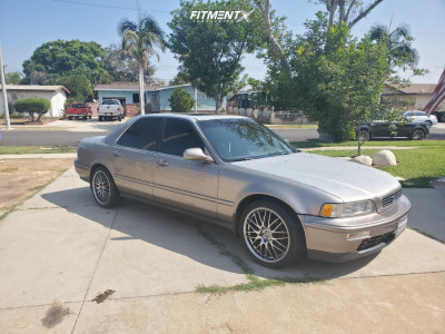 1994 Acura Legend - 18x7.5 45mm - Enkei Ekm3 - Stock Suspension - 225/40R18