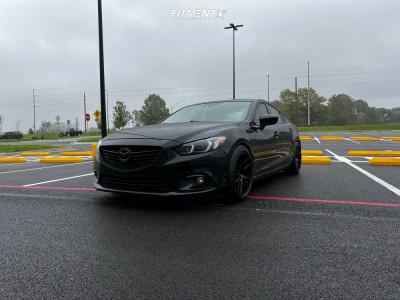 2017 Mazda 6 - 18x9.5 35mm - Artisa ArtFormed Elder - Coilovers - 245/45R18