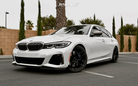 2020 BMW M340i - 19x8.5 35mm - Rohana Rfx11 - Lowering Springs - 255/35R19