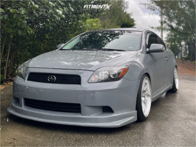 2010 Scion tC - 18x9.5 35mm - Aodhan Ds02 - Coilovers - 215/40R18