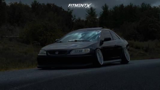 2000 Honda Accord - 17x10 15mm - Rays Engineering Evolution III - Coilovers - 205/45R17