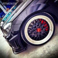 "2011 Mercedes-Benz c280 - 19x8 45mm - BBS Lm - Suspension Lift 4"" - 235/35R19"