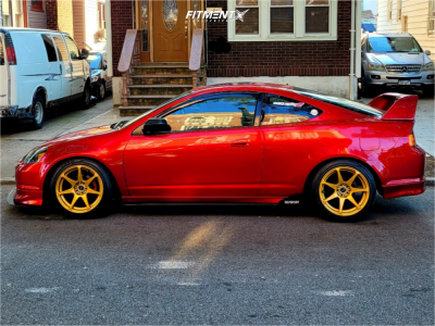 2002 Acura RSX - 17x9 30mm - Mb Wheels Battles - Coilovers - 225/45R17