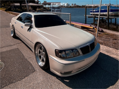1999 INFINITI Q45 - 19x9.5 22mm - Aodhan Ds09 - Coilovers - 245/45R19