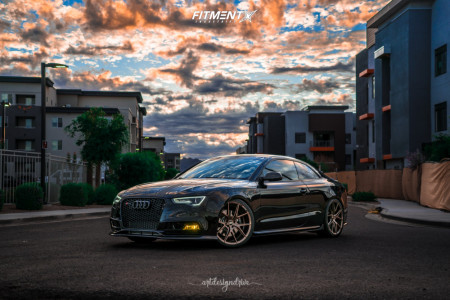 2013 Audi S5 - 20x9 25mm - Verde Axis - Coilovers - 265/30R20