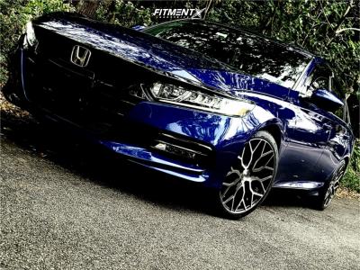 2019 Honda Accord - 19x8.5 45mm - Niche Mazzanti - Stock Suspension - 245/35R19