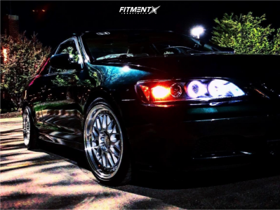 2001 Honda Accord - 17x8.5 35mm - Aodhan Ah02 - Coilovers - 205/40R17