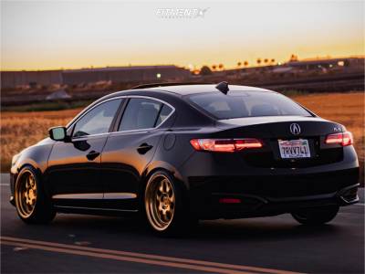 2016 Acura ILX - 18x9.5 21mm - Aodhan Ds01 - Coilovers - 235/40R18