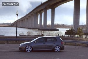 2009 Volkswagen GTI - 18x8 38mm - BBS Impuls - Lowered Adj Coil Overs - 205/40R18