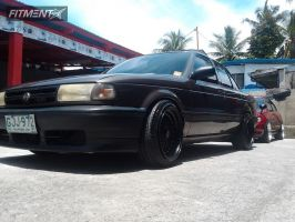 1997 Nissan Sentra - 16x9 20mm - BBS RS - Lowered on Springs - 195/45R16
