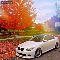 2006 BMW 530xi - 20x9 20mm - Varrstoen ES1 - Lowered Adj Coil Overs - 225/35R20