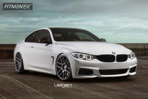 2014 BMW 435i - 20x9 32mm - Velgen Vmb6 - Lowered Adj Coil Overs - 245/30R20
