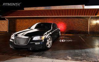 2013 Chrysler 300 - 20x9 18mm - K3 Projekt Projekt 1 - Lowered on Springs - 245/40R20
