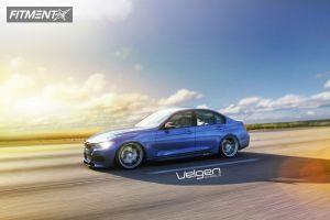 2013 BMW 335i - 20x9 35mm - Velgen VMB8 - Lowered Adj Coil Overs - 245/30R20