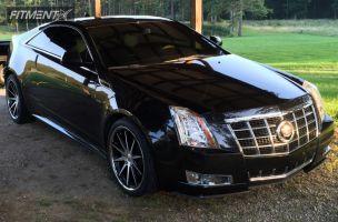 2012 Cadillac CTS - 20x8.5 35mm - XIX 31 - Stock Suspension - 245/35R20