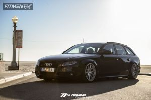 2011 Audi A4 - 19x10 35mm - Rotiform SNA - Air Suspension - 235/35R19