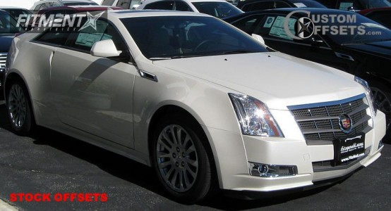 2011 Cadillac CTS - 18x8.5 48mm - Stock Stock - Stock Suspension - 235/50R18