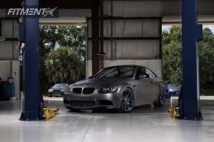 2011 BMW M3 - 20x9 20mm - Velgen VMB8 - Lowered Adj Coil Overs - 245/30R20