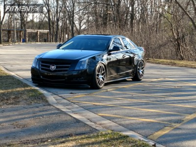 2010 Cadillac CTS - 20x9 35mm - TSW Nurburgring - Lowered Adj Coil Overs - 245/40R20