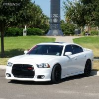 2013 Dodge Charger - 22x9.5 30mm - Giovanna Kilis - Lowered Adj Coil Overs - 325/9.5R22