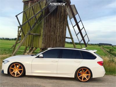 2016 BMW 320i - 20x9 25mm - Rohana Rc7 - Lowering Springs - 245/30R20
