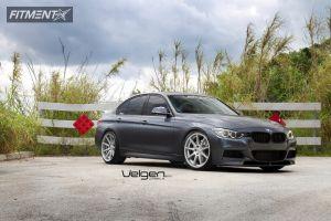 2014 BMW 335i - 20x9 35mm - Velgen Vmb9 - Lowered on Springs - 245/35R20