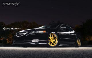 2005 Acura TL - 19x9 30mm - K3 Projekt IND Series - 5SG - Air Suspension - 215/35R19