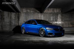 2015 BMW 435i Gran Coupe - 20x9 35mm - Velgen Vmb6 - Lowered on Springs - 245/30R20