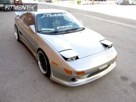 1991 Toyota MR2 - 18x8.5 20mm - XXR 521 - Lowered Adj Coil Overs - 215/30R18