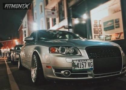 2007 Audi A4 Quattro - 18x9.5 25mm - Rotiform Ccv - Coilovers - 235/40R18
