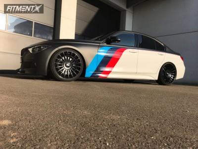 2016 BMW 3 Series - 20x8.5 35mm - Rotiform Las-r - Coilovers - 225/35R20