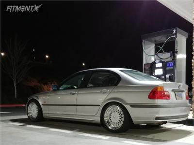 1999 BMW 323i - 17x8.5 30mm - ESR Sr03 - Coilovers - 235/40R17